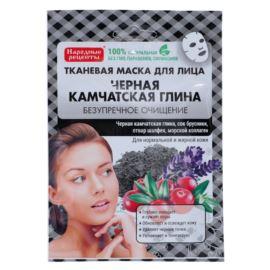 Oczyszczająca Maseczka do Twarzy w Płacie, Glinka Kamczacka, Fitocosmetics, 25ml