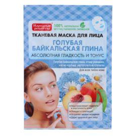 Wygładzająca Maseczka do Twarzy, w Płacie, Niebieska Glinka Bajkalska, Fitocosmetics, 25ml
