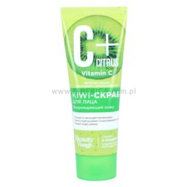 Scrub do Twarzy, Citrus C+ Kiwi, Beauty Visage, Fitokosmetik, 75ml
