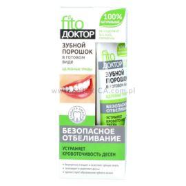 Wybielający Proszek do Mycia Zębów, Lecznicze Zioła, Fitokosmetik, 45ml