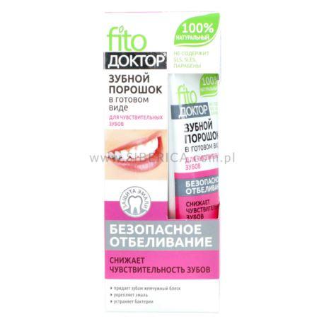 Proszek do Mycia Zębów w Paście, Do Zębów Wrażliwych, Fitokosmetik, 45ml