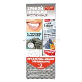 Proszek Dentystyczny w Formie Pasty do Zębów, Glinka Kamczacka, Fitokosmetik, 45ml