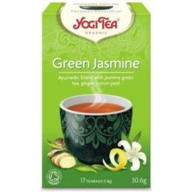 Herbata Zielona Jaśminowa, Green Jasmine Yogi Tea, 17 saszetek