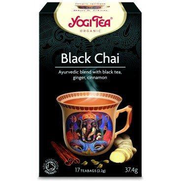 Czarna Herbata, Czarny Czaj , Yogi Tea, 17 saszetek