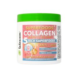Koktaj Kolagenowy Beauty Elixir Superfoods, Intenson, 165gr