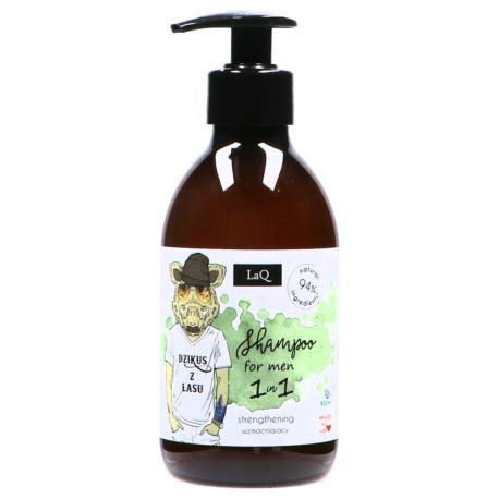 Wzmacniający Szampon do Męskich Włosów, Laq, 300 ml