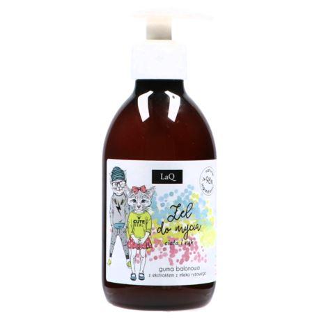 Żel do Mycia Ciała i Rąk, Guma Balonowa, Laq, 300 ml