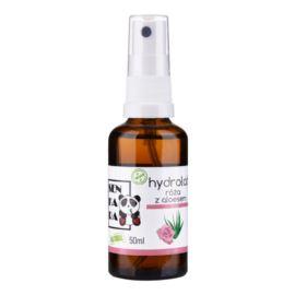 Hydrolat Róża z Aloesem, Senkara, 50ml