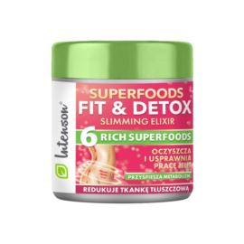 Koktaj Błonnikowy Fit & Detox Slimming Elixir, Intenson, 135gr