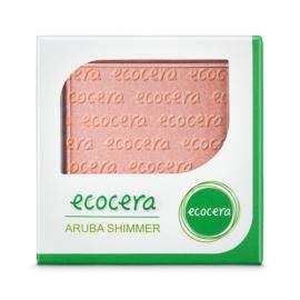 Puder Rozświetlający Prasowany Aruba Shimmer, Ecocera, 10g