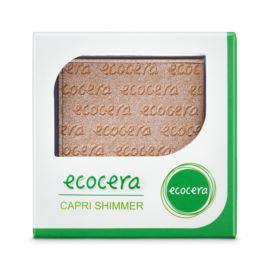 Puder Rozświetlający Prasowany Capri Shimmer, Ecocera, 10g