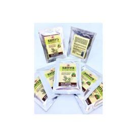 Roślinna Farba do Włosów, Nut Brown, Sattva Ayurveda, 10g