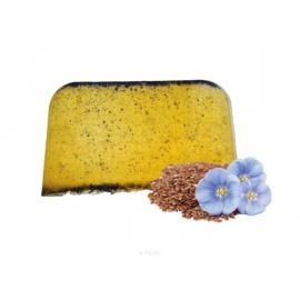 Arganowy Szampon w Kostce Olejem Lnianym , E-fiore, 100 gr