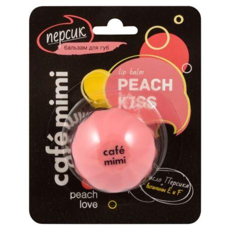 Balsam do Ust, Peach Kiss, Cafe Mimi, 8ml