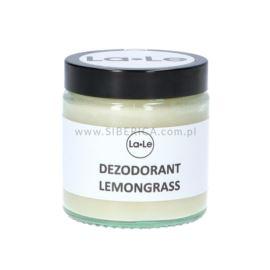 Dezodorant w Kremie z Olejkiem Lemongrass , La-Le, 120ml