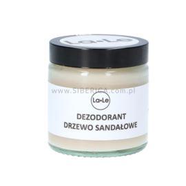 Dezodorant w Kremie z Drzewem Sandałowym , La-Le, 120ml