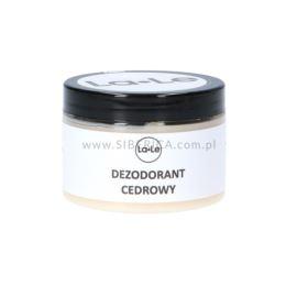 Dezodorant w Kremie Cedrowy, La-Le, 150ml