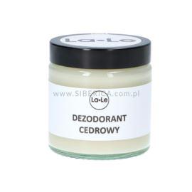 Dezodorant w Kremie Cedrowy, La-Le, 120ml