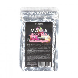 Błotna Maska do Twarzy z Olejem z Opuncji i Spiruliną, E-Fiore, 30gr