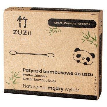 Patyczki Bambusowe z dodatkiem Bawełny, Zuzii, 100 szt
