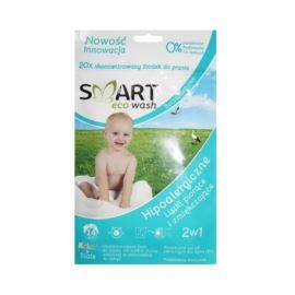 Listki Piorące i Zmiękczające Hipoalergiczne do Kolorów i Białego, Bezzapachowe, Smart Eco Wash, 14 prań