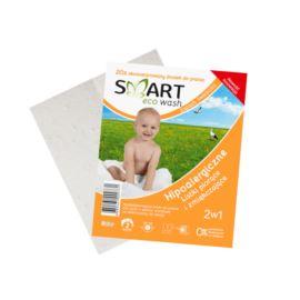 Listki Piorące i Zmiękczające Hipoalergiczne do Kolorów, Zapach Świeżości, Smart Eco Wash, 2 prania