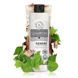 Szampon Dziegciowy z Zieloną Glinką do włosów Przetłuszczających się, E-Fiore, 250 ml