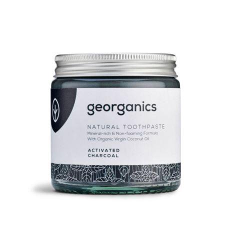 Mineralna Pasta do Zębów z Węglem Aktywnym, Georganics, 60 ml