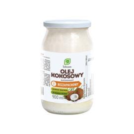 Olej Kokosowy Bezzapachowy, Rafinowany, 900ml
