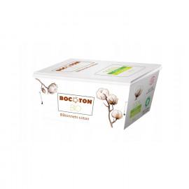 Patyczki Kosmetyczne z Organicznej Bawełny, Bocoton, 200szt.