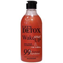 Let's Detox, Żel pod Prysznic Orzeźwiający Wake Me Up, Body Boom, Russkaja Kosmetika, 380ml