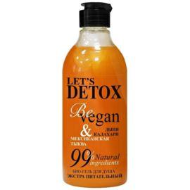 Let's Detox, Żel pod Prysznic z Ekstraktem z Dyni, Be Vegan, Body Boom, Russkaja Kosmetika, 380ml