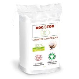 Kwadratowe Płatki do Demakijażu, z Organicznej Bawełny, Bocoton, 40szt