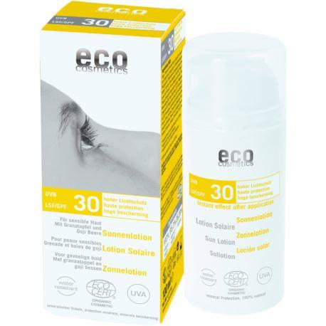Emulsja na Słońce, 30SPF, Eco Cosmetics, 100ml