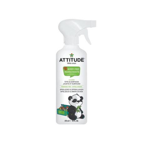 Spray do Czyszczenia Zabawek i Powierzchni, Bezzapachowy, Attitude, 475 ml