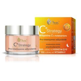Krem na Noc C+ Strategy, Pro-intensywne Odżywienie, Witamina C z Astaksantyną, Ava Laboratorium, 50 ml