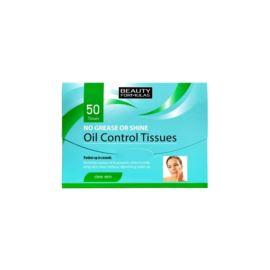 Bibułki Matujące Oil Control, Beauty Formulas, 50 szt.