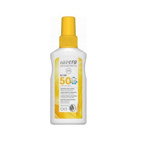 Lotion Przeciwsłoneczny SPF 50 dla Dzieci, Lavera, 100 ml