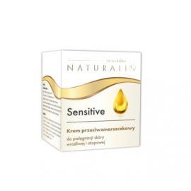 Przeciwzmarszczkowy Krem do Twarzy, Sensitive, Naturalis, 50 ml