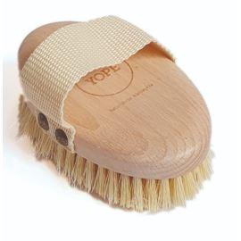 Naturalna, drewniana szczotka do masażu Yope z Agawy