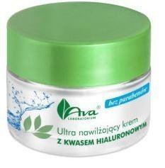 Ultra Nawilżający Krem do Twarzy, Kwas Hialuronowy, Ava Laboratorium, 50 ml