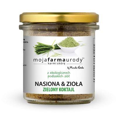 Nasiona i Zioła Zielony Koktajl, Moja Farma Urody, 120 g