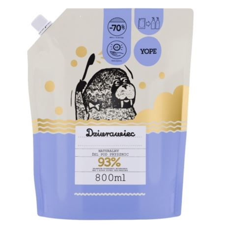 Naturalny Żel Pod Prysznic Dziurawiec, Yope, 400 ml