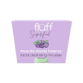 Mus do Oczyszczania Twarzy Jagody Leśne, Superfood, Fluff, 150 ml
