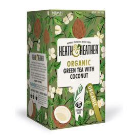 Organiczna Zielona Herbata Kokosowa, Heath & Heather, 20 szt.