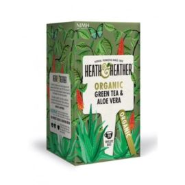 Organiczna Zielona Herbata z Aloesem, Heath & Heather, 20 szt.