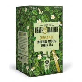 Organiczna Herbata Zielone Rooibos, Heath & Heather, 20 szt.