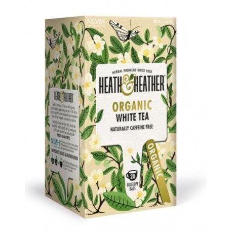 Organiczna Biała Herbata, Heath & Heather, 20 szt.
